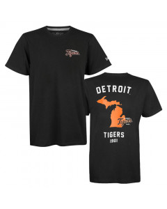 Detroit Tigers New Era State Map T-Shirt