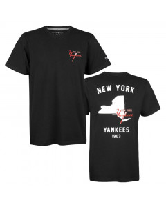 New York Yankees New Era State Map T-Shirt
