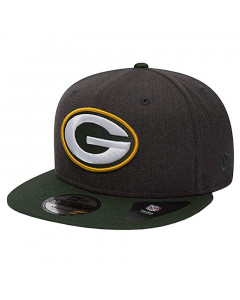 Green Bay Packers New Era 9FIFTY Heather kapa