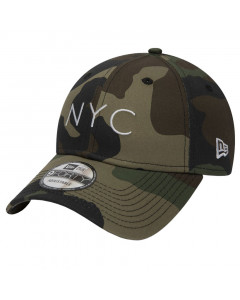 New Era 9FORTY Essential NYC Camo kačket