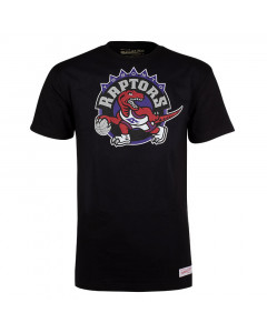 Toronto Raptors Mitchell & Ness Pushed Logo T-Shirt