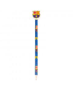 FC Barcelona drvena olovka sa gumicom