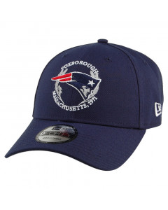New England Patriots New Era 9FORTY 2019 NFL Draft Mütze
