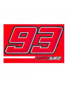 Marc Marquez MM93 Number zastava 140x90 cm