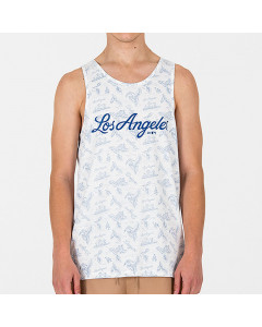 Los Angeles Dodgers New Era Island Tank T-Shirt ärmellos