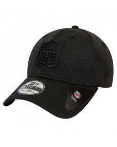 NFL Logo New Era 39THIRTY Shadow Tech Black Mütze