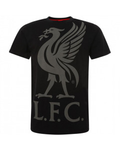 Liverpool Liverbird Black majica