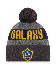Los Angeles Galaxy New Era 2019 MLS Official On-Field Wintermütze