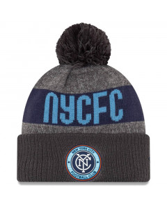 New York City FC New Era 2019 MLS Official On-Field zimska kapa