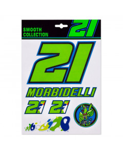 Franco Morbidelli FM21 naljepnice