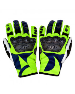 Valentino Rossi VR46 Sun and Moon Handschuhe