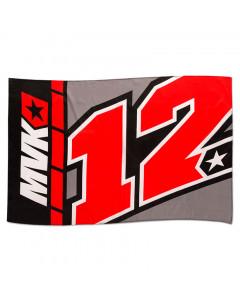 Maverick Vinales MV12 zastava 140x90