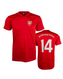 Aubameyang 14 Arsenal Poly Training T-Shirt Trikot