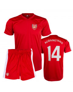 Aubameyang 14 Arsenal Poly Kinder Training Trikot Komplet