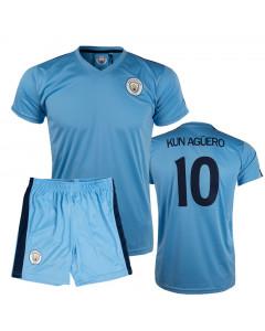 Kun Agüero 10 Manchester City Poly dečji trening komplet dres