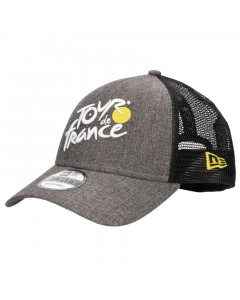 Tour de France 2019 New Era 9FORTY Trucker Chambray Front kapa