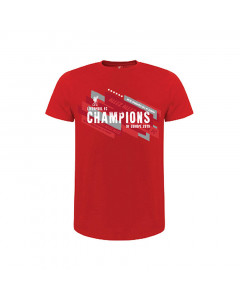 Liverpool Champions Of Europe 2019 Kinder T-Shirt