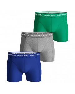 Björn Borg Solid Essential Sammy 3x Boxershorts