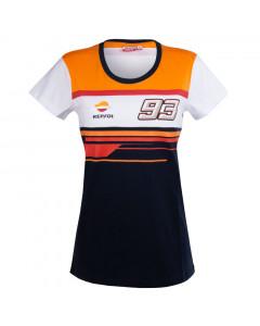 Marc Marquez MM93 Back 99 Repsol ženska majica
