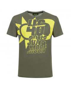 Valentino Rossi VR46 Lifestyle Sun and Moon T-Shirt