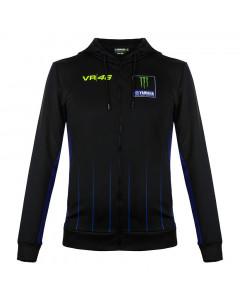 Valentino Rossi VR46 Yamaha Monster Black duks sa kapuljačom