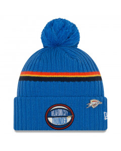 Oklahoma City Thunder New Era 2019 NBA Draft Authentics Wintermütze