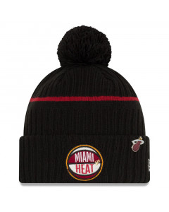 Miami Heat New Era 2019 NBA Draft Authentics Wintermütze
