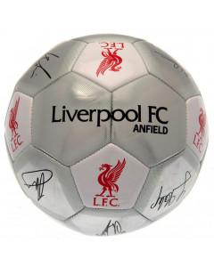 Liverpool žoga s podpisi