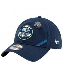 Minnesota Timberwolves New Era 9TWENTY 2019 NBA Draft Authentics Mütze