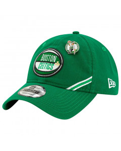 Boston Celtics New Era 9TWENTY 2019 NBA Draft Authentics Mütze