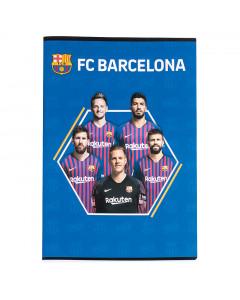 FC Barcelona bilježnica A4/OC/54L/80GR 5