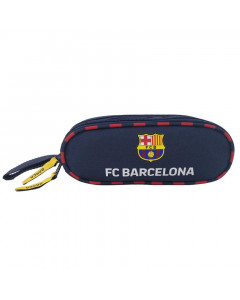 FC Barcelona Federtasche oval