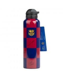 FC Barcelona Alu Trinkflasche mit Unterschriften 600 ml