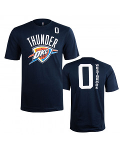 Russell Westbrook 0 Oklahoma City Thunder Standing Tall T-Shirt