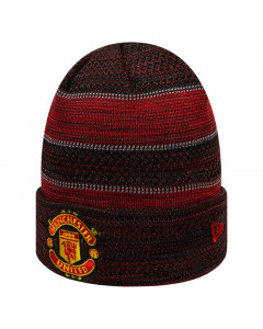 Manchester United New Era Two Tone Engineered Cuff Wintermütze