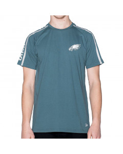 Philadelphia Eagles New Era Raglan Shoulder Print T-Shirt