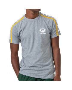 Green Bay Packers New Era Raglan Shoulder Print T-Shirt