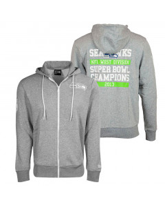 Seattle Seahawks New Era Large Graphic zip majica sa kapuljačom