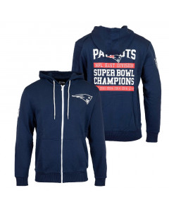 New England Patriots New Era Large Graphic Kapuzenjacke