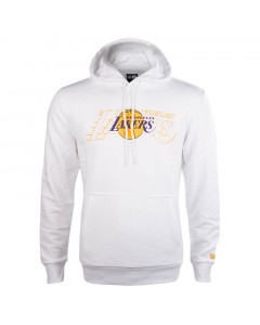 Los Angeles Lakers New Era Graphic Overlap pulover s kapuco