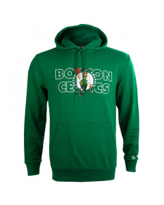 Boston Celtics New Era Graphic Overlap Kapuzenpullover