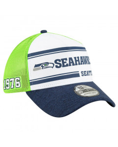 Seattle Seahawks New Era 39THIRTY 2019 NFL Official Sideline Home 1970s Mütze