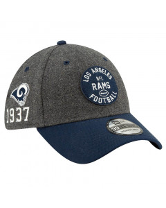 Los Angeles Rams New Era 39THIRTY 2019 NFL Official Sideline Home 1937s kačket