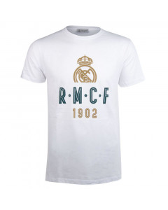 Real Madrid White T-Shirt  N°41