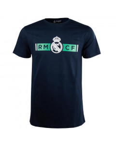 Real Madrid Navy T-Shirt N°42