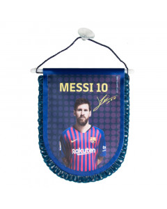 FC Barcelona Messi kleine Fahne
