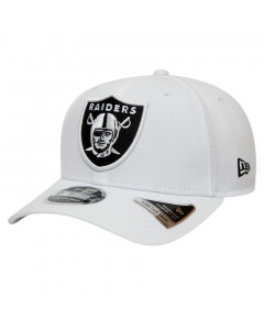 Oakland Raiders New Era 9FIFTY Base Stretch Snap kačket White