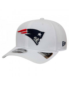 New England Patriots New Era 9FIFTY Base Stretch Snap Mütze White