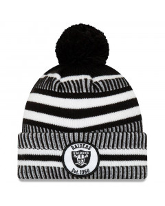 Oakland Raiders New Era 2019 NFL Sideline Cold Weather Home Sport 1960 Wintermütze