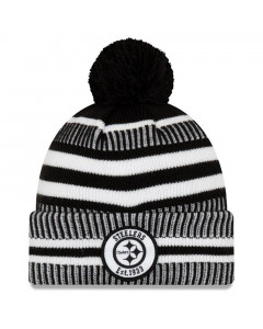 Pittsburgh Steelers New Era 2019 NFL Sideline Cold Weather Home Sport 1933 Wintermütze